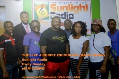 Great men and women of this generation join us on Sunlight Radio for open night. We had a great encounter with the LORD.