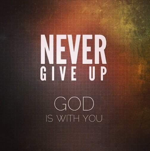 God is our strength and He will see us through it all. His grace is sufficient for all!