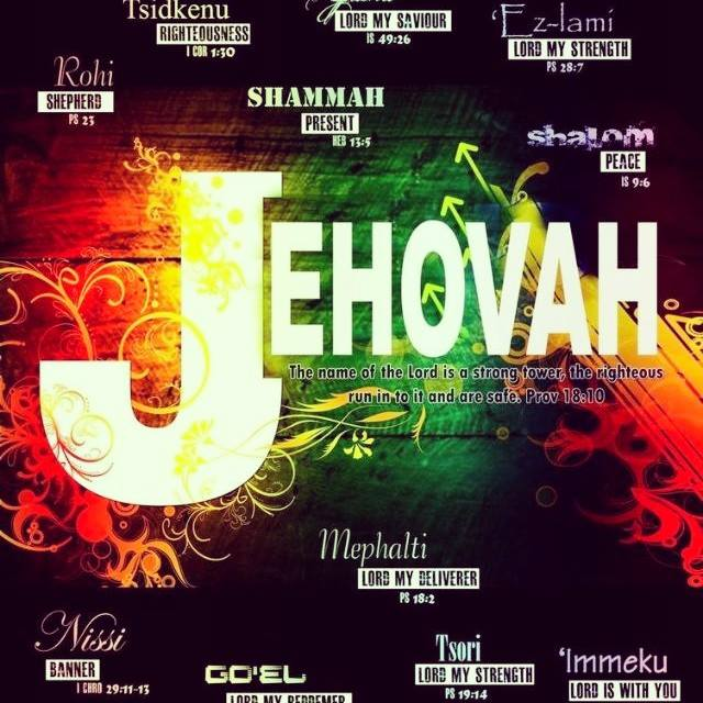 Great names of GOD. We have a great treasure!