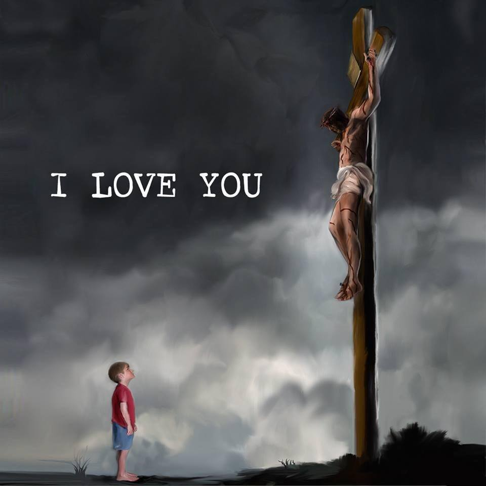 """HE did all for me and your sake. It is about that time that we return back to """"The Cross"""" and honor Jesus Christ. Take a moment and think about His enduring love and offer your heart full of thanksgiving unto the Lord, Amen!!!"""