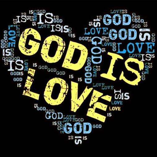 Love = GOD GOD = LOVE (He Saves each Day)