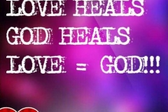 GOD is love and He saves each day!