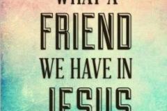 Make Jesus your best friend!