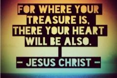 Jesus is our greatest Treasure!