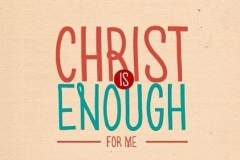 Jesus is all you need