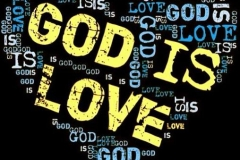 Love = GOD GOD = LOVE (He Saves each Day)